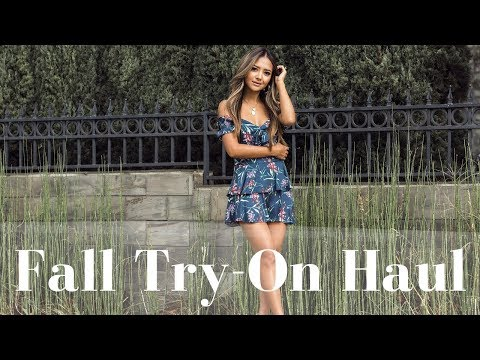Fall Try On Haul 2017 | Zara, Aritzia, Topshop & More!!