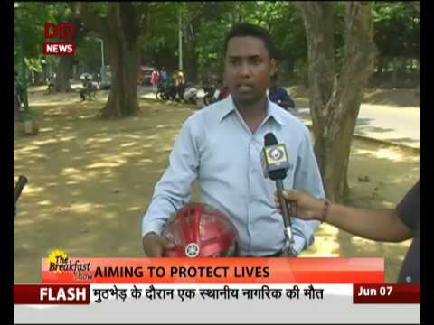 GNI : Jamshedpur boy invents life saving circuit for bikers