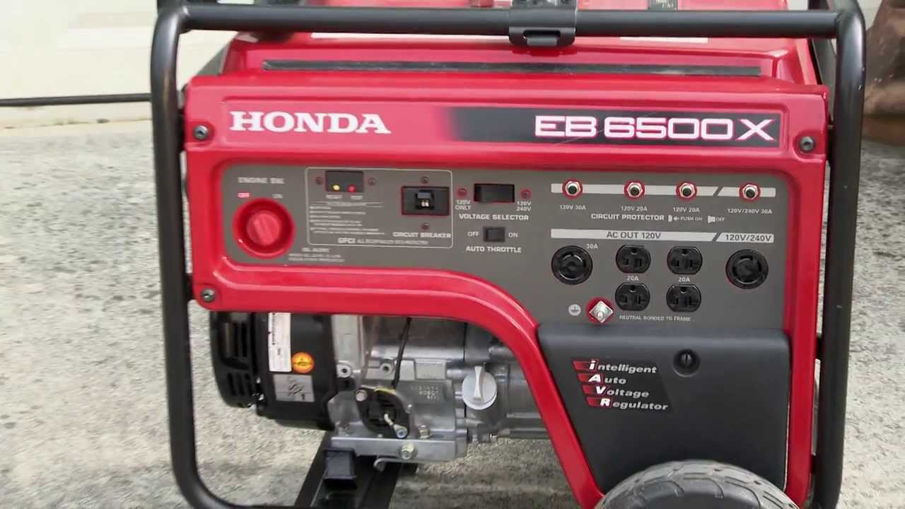 honda eb6500x generator video youtube rh youtube com Honda EB6500 Generator honda eb6500 generator shop manual