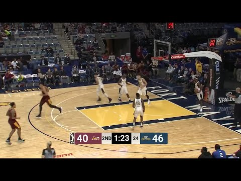 Ante Zizic Posts 14 points & 16 rebounds vs. Fort Wayne Mad Ants