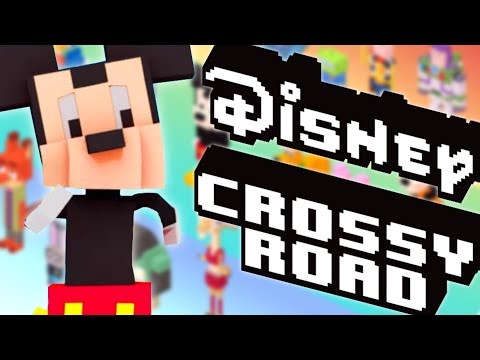 DISNEY CROSSY ROAD | ATTENTION AUX VOITURES !