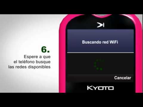 Kyoto X85 - Conexión WiFi