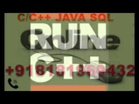 Java home tutor in Jayanagar Ph 08181969432