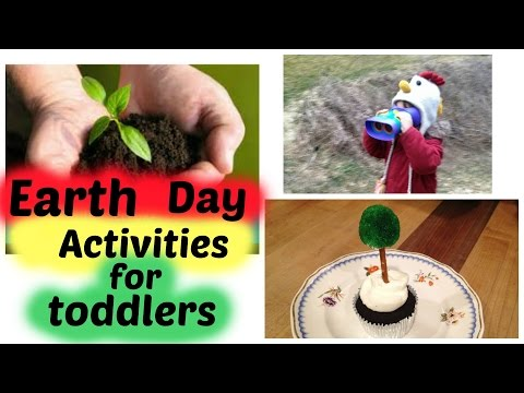 Earth Day activities for toddlers!