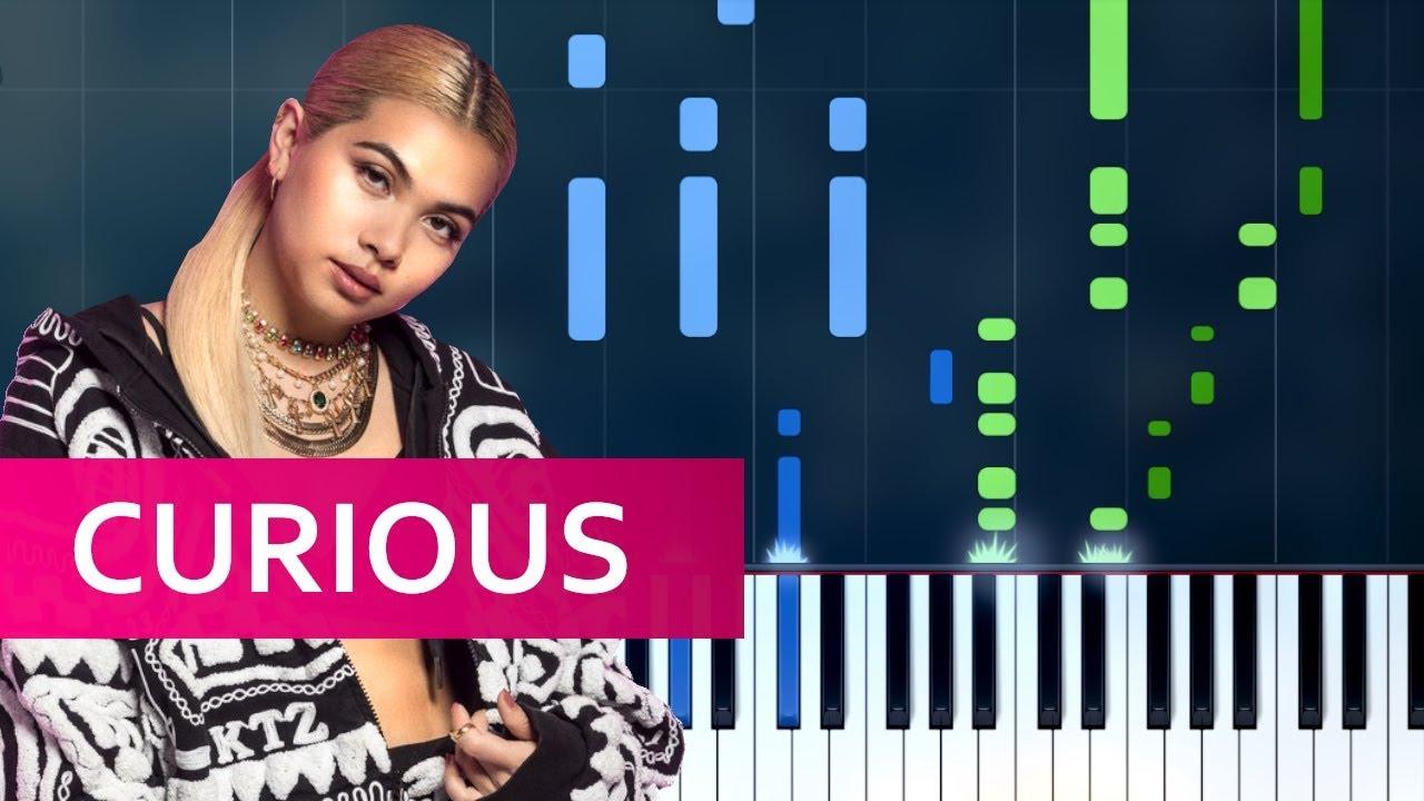 Hayley Kiyoko Curious Piano Tutorial Chords How To Play