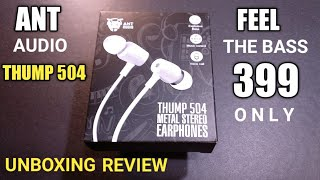 #Antaudio #wired Headset Ant Audio Thump 504 Headphone Unboxing & Review | Use It & Love It