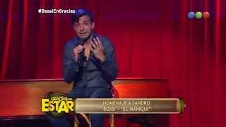 Martín Bossi, Homenaje A Sandro, El Maniquí – Gracias Por Venir