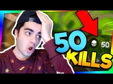 50 KILLS EN 8 MINUTES DE VIDÉO SUR FORTNITE !!