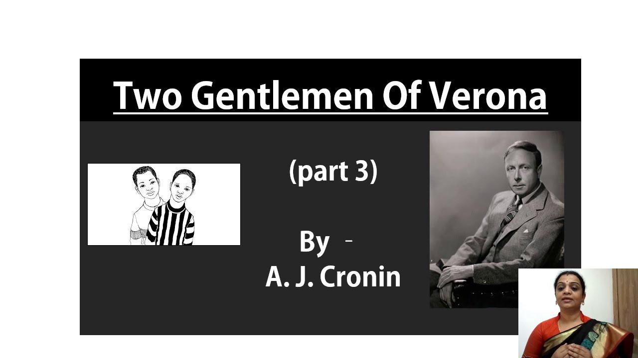 I PUC | ENGLISH | Two Gentlemen Of Verona -  03