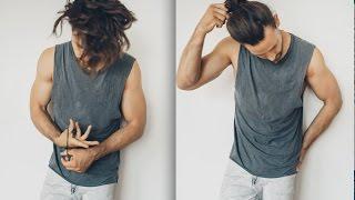 Haarstyling TUTORIAL - für Männer - bei längeren Haaren