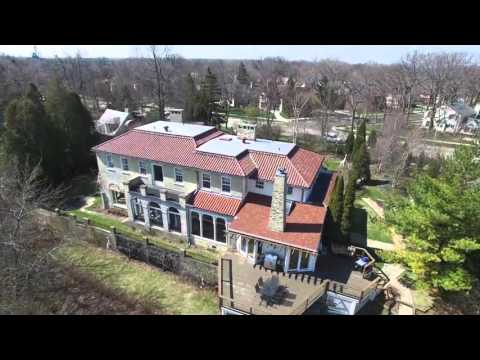Drone Video Tour 5400 North Shore Drive, Whitefish Bay, WI