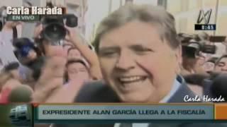 2017-02-16 - Alan García en la Fiscalía