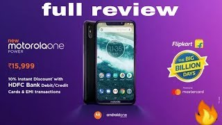 Motorola one power camera, battery, specifications and full review [Hindi]