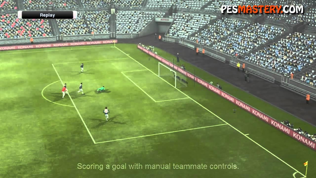 PES Teammate Control | PES Mastery - Pro Evolution Soccer Tutorials
