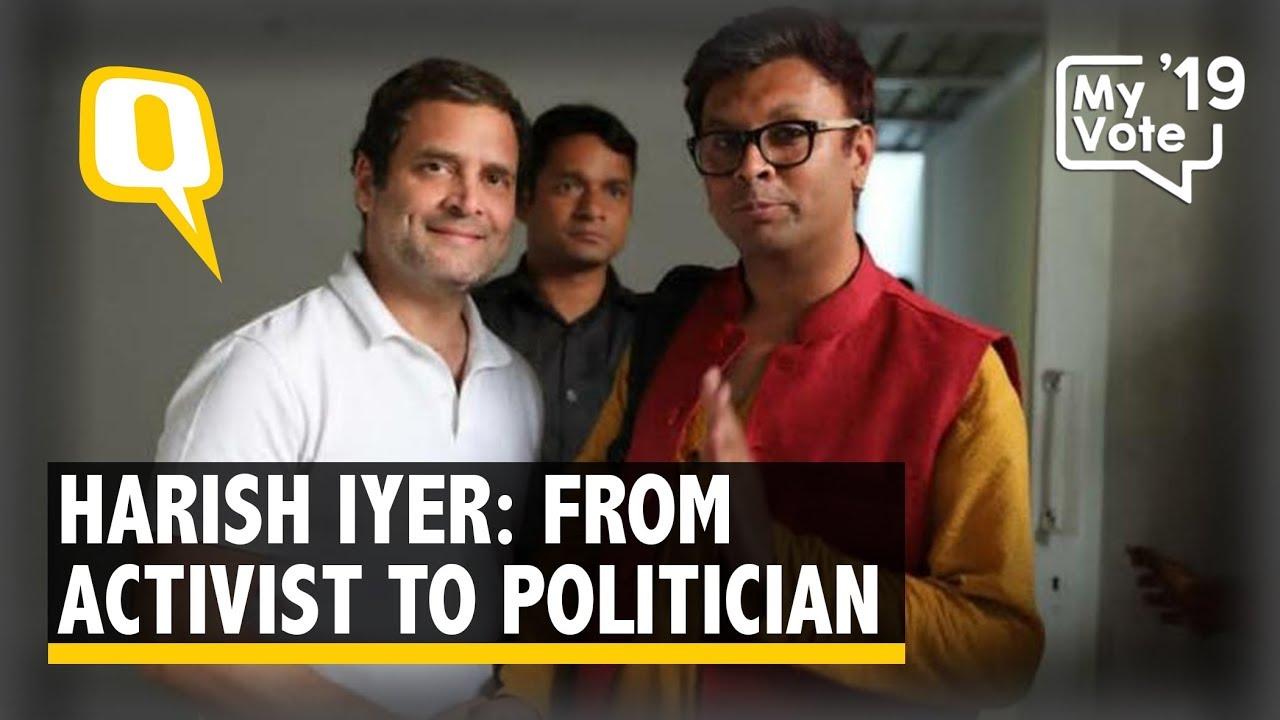 What LGBT Activist Harish Iyer Achieves Through Mainstream Politics   The Quint
