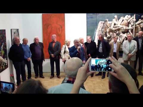 Открытие выставки 85