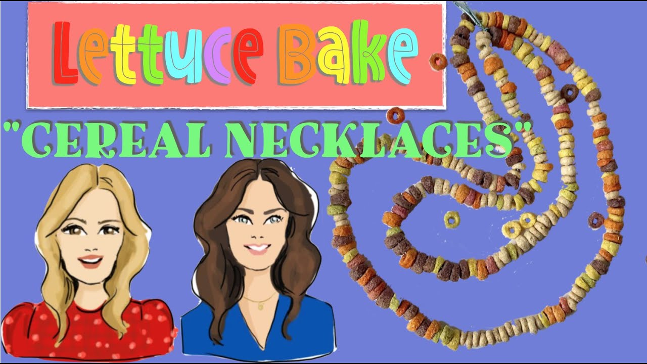 Cereal Necklaces by Baker Sisters Jean and Rachel