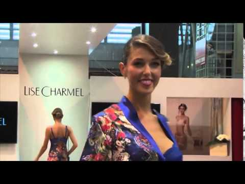 Lise charmel 2014 at salon de la lingerie paris youtube for Salon de la photo paris
