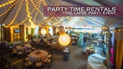 Party Time Rentals Chamber TimeLapse
