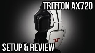 Tritton Ax720 Headset Review and Setup