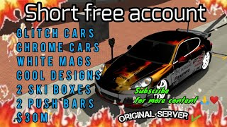 Download Short Free account #14 2021 | Car parking multiplayer