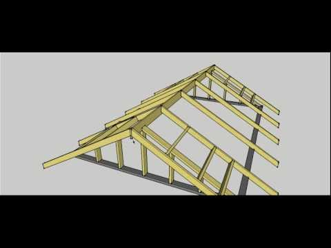 Gable Roof Erection Procedure