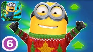 Despicable Me Minion Rush Holiday Sweater Level Up Costume fullscreen gameplay walkthrough android