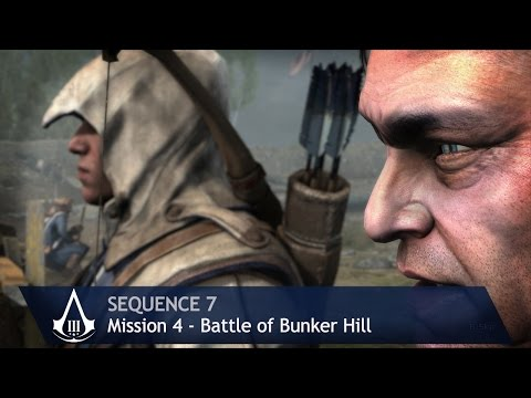 Assassin's Creed 3 - Sequence 7 - Mission 4 - Battle of Bunker Hill (100% Sync)