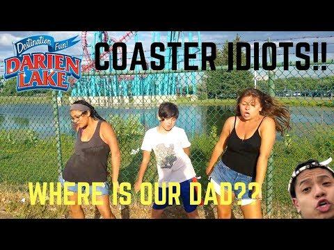 Coaster Idiots Go To Darien Lake (Deadbeat Father Edition)