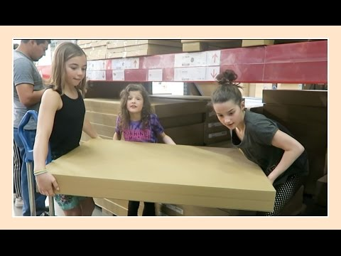 Gymnasts or Furniture Movers? | Flippin' Katie