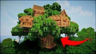 Minecraft: 5 CASAS NA ÁRVORE INCRÍVEIS PARA VOCÊ MORAR!!!