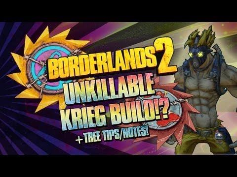 Borderlands 2: UNKILLABLE Thrilling Retribution Krieg Flesh Build (Level 72 Build Soon!)