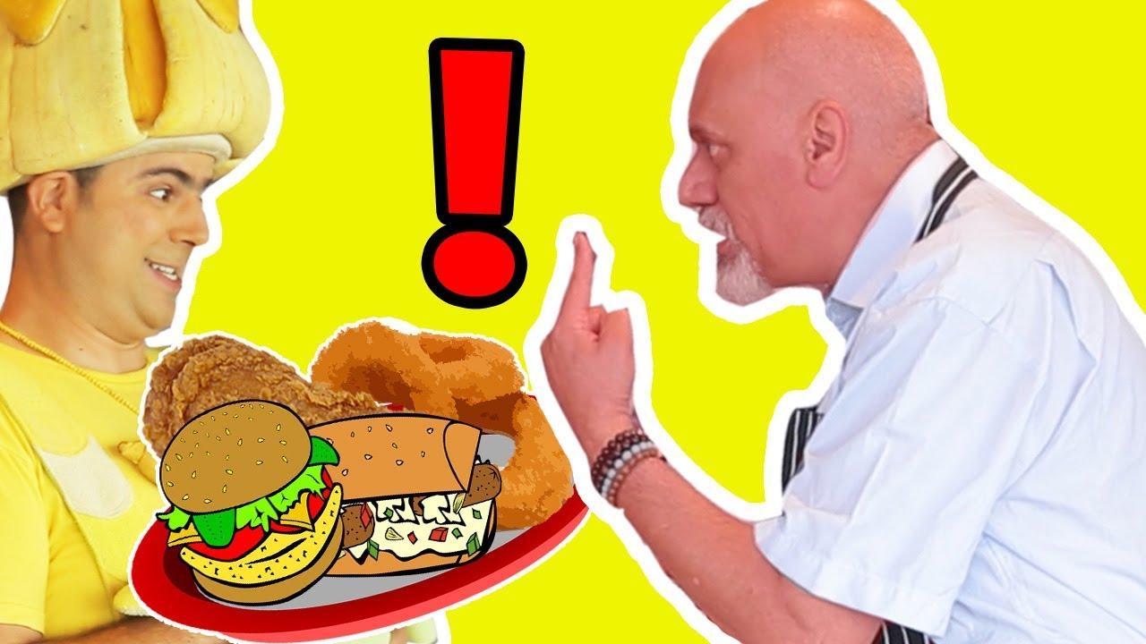فوزي موزي وتوتي - فوزي النادل - Fozi the Waiter