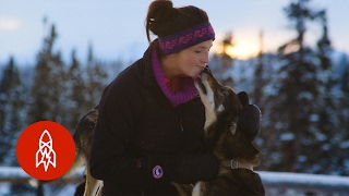 From Fashion Model to Sled Dog Musher