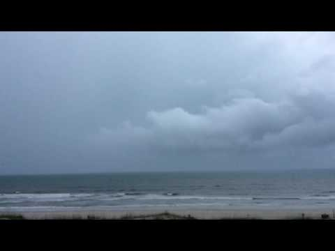 Thunderstorm in Crescent Beach, FL