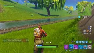 Fortnite! 272 metres with sniper kill