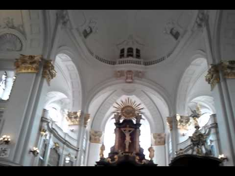 Gorgeous St.  Michaels Church Inside Hamburg Germany 2014 (MUST SEE)