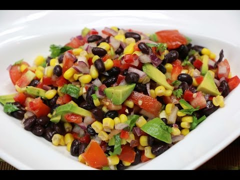 Black Bean Salad Recipe How to Make a Black Bean Salad