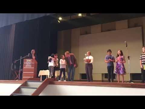 Premiacion A1y A2 en Deutsche Schule - Colegio Aleman Mariscal Braun