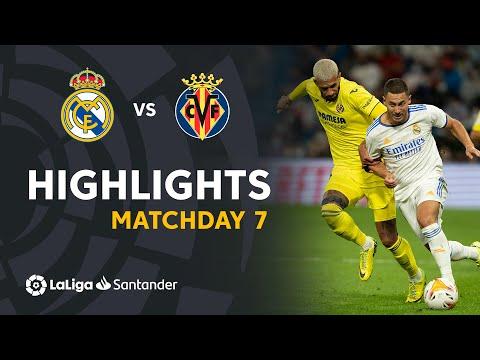 Real Madrid Villarreal Goals And Highlights