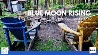 Blue Moon Rising Review - Cutest Cabins in Deep Creek Lake