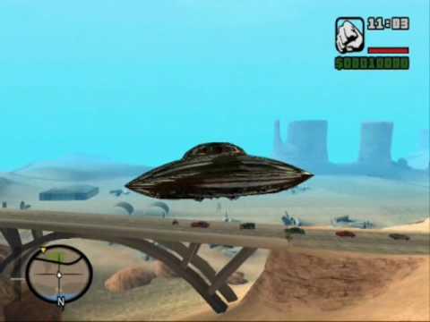Gta San Andreas Ufo Appear In San Andreas Youtube
