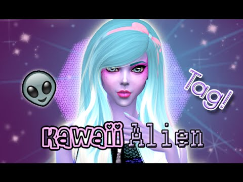 how to make your sim an alien sims 3