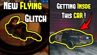 This New Flying Glitch is Totally BROKEN | Getting Inside This Car ! - Rainbow Six Siege