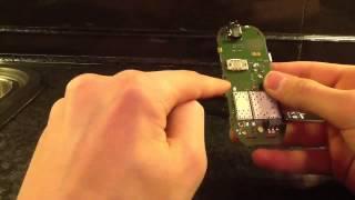 3.Как сделать картинку под экраном на Nokia 1280