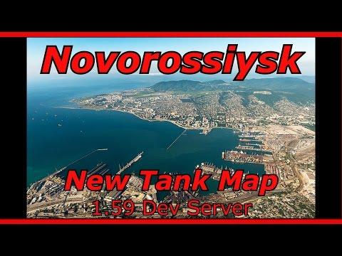 War Thunder  || 1.59 Dev Server - Port Novorossiysk - new tank map
