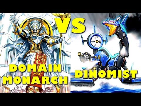 Real Life Yugioh - DOMAIN MONARCH vs DINOMIST | May 2018 Scrub League
