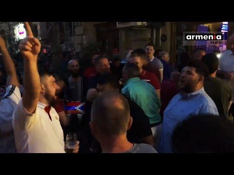 Ради Мхитаряна: Мы были в Карабахе и везде - песня фанатов Арсенала в Баку