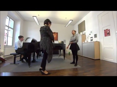 Oksana Lepska Vocal Master class with Natela Nicoli (Georgian mezzo-soprano)