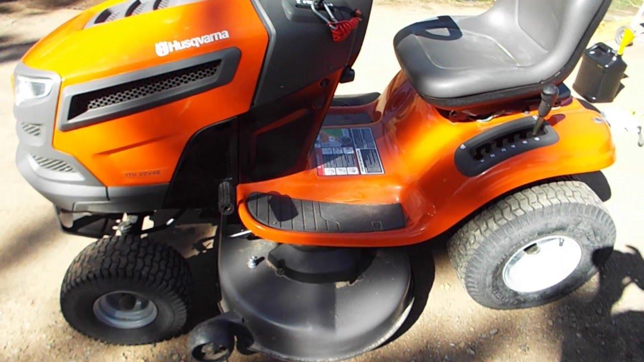 husqvarna riding mower seat safety kill switch modification [ 1280 x 720 Pixel ]